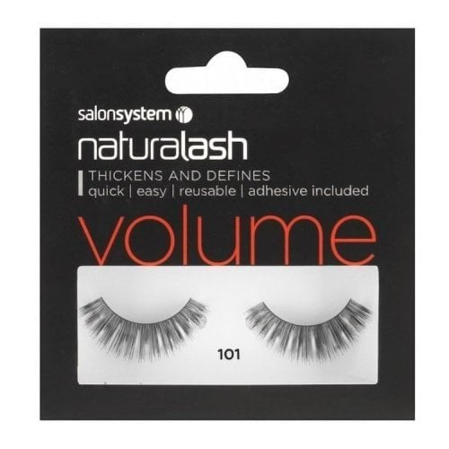 "Femmina | ""Salon System Naturalash Re-Usable Eyelashes - Black - 101"""