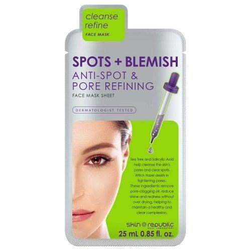 "Femmina | ""Skin Republic Spots & Blemish Sheet Mask - 25ml"""