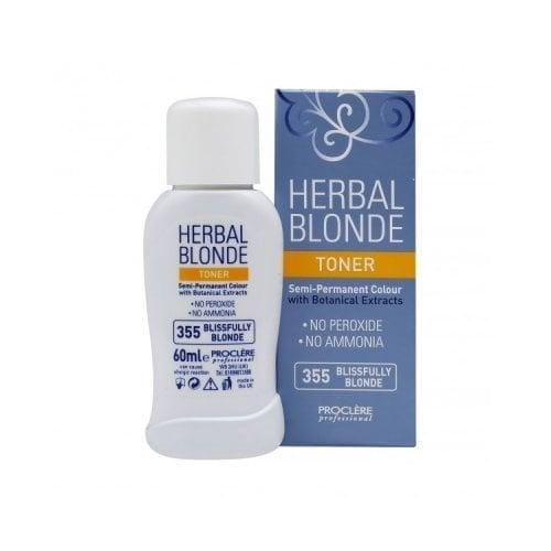 "Femmina | ""Proclere Herbal Toner Semi Permanent Colour 355 Blissfully Blonde"""