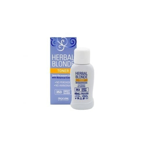 "Femmina | ""Proclere Herbal Toner Semi Permanent Colour 353 Sweet Silver"""