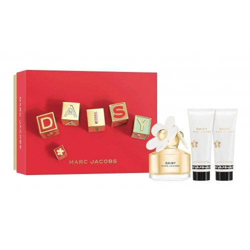 Marc Jacobs Daisy 2021 - 50ml EDT Gift Set With 75ml Body Lotion and 75ml Shower Gel