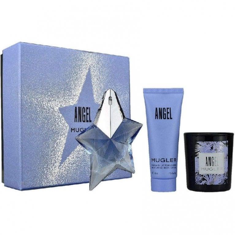 Thierry Mugler Angel Pour Femme Gift Set With 25ml Eau De Parfum