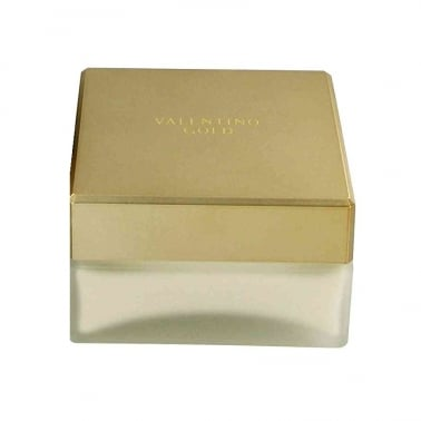 Valentino Gold For Women - 150ml Body Cream, Damaged Packaging
