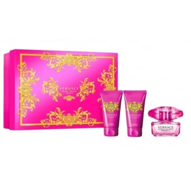 Versace Bright Crystal Absolu - 30ml EDP Gift Set With 50ml Body Lotion