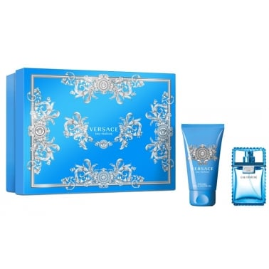 Versace Man Eau Fraiche - 30ml EDT Gift Set With 50ml Shower gel.