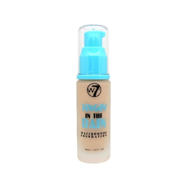 W7 Cosmetics Singin' In The Rain Waterproof Foundation - Natural Beige.