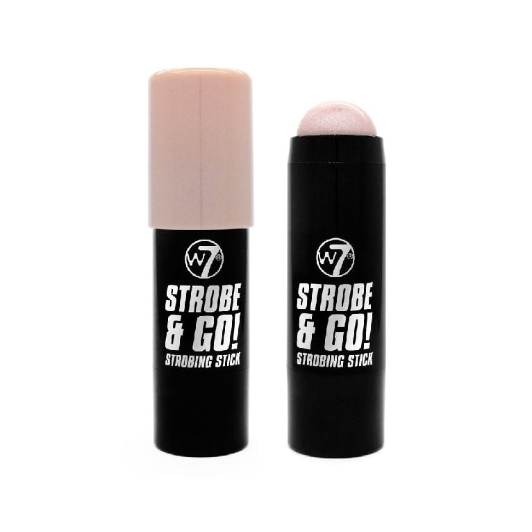 W7 Cosmetics Strobe & Glow! Highlighter Stick - Pink Light.