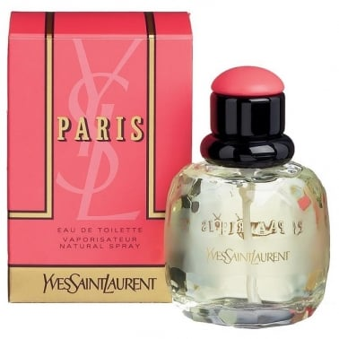 Yves Saint Laurent Paris - 50ml EDT Gift Set With 75ml Body Lotion